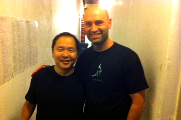 Paul Ogata and Ted Alexandro