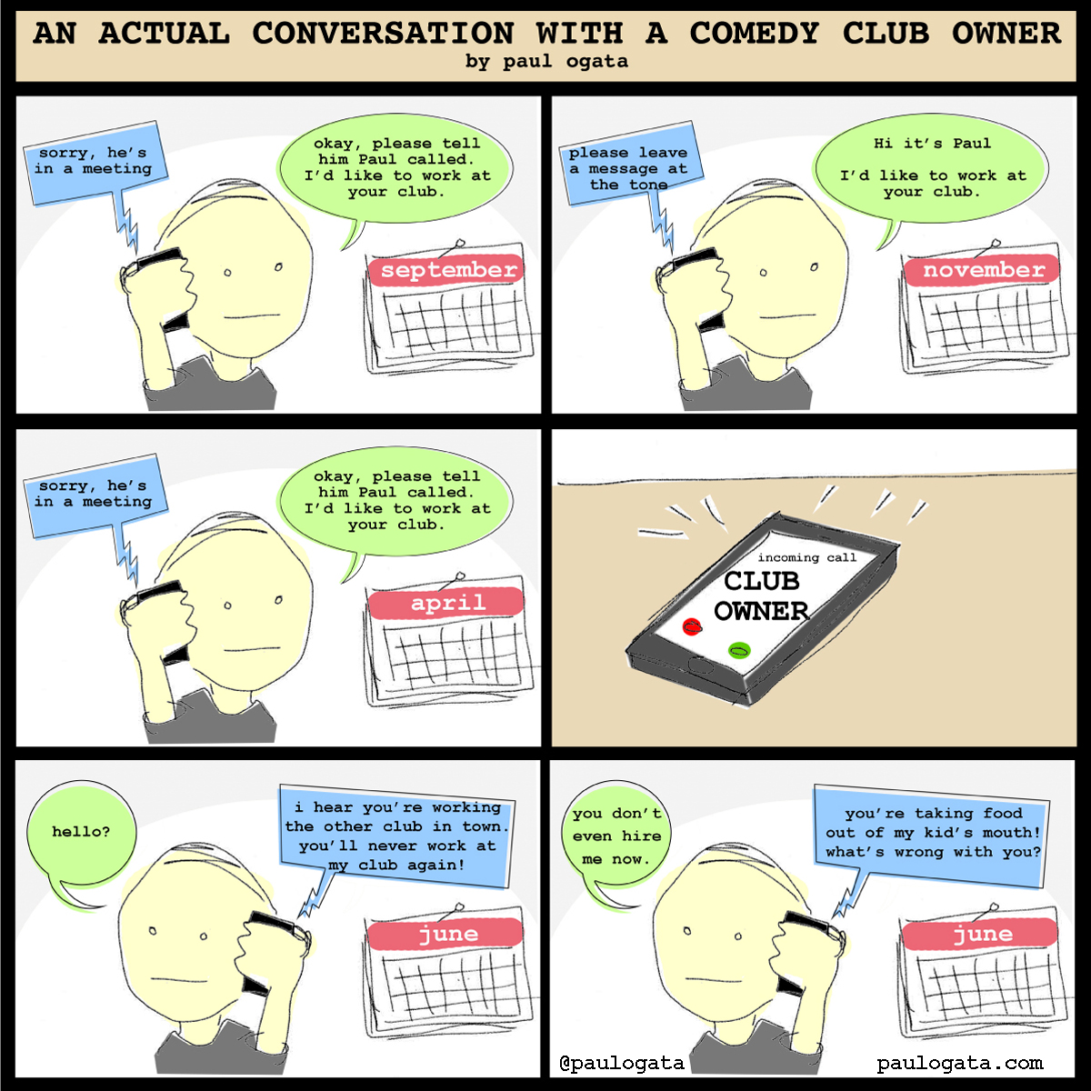 Conversations With Comedy Club Owners