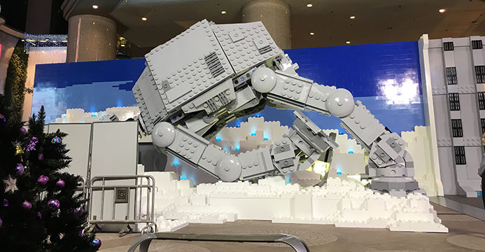 Giant Lego AT-AT