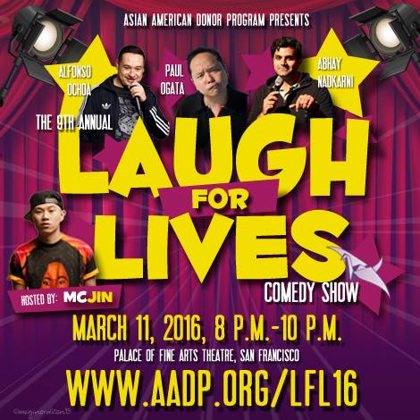 AADP Laughs For Lives 2016