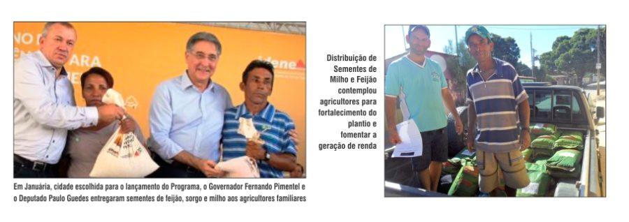 Januária foi palco para o lançamento do Plano de Urgência para Enfrentamento da Seca na região