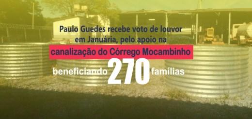paulo guedes recebe voto de louvor em januaria tubuloes corrego mocambinho