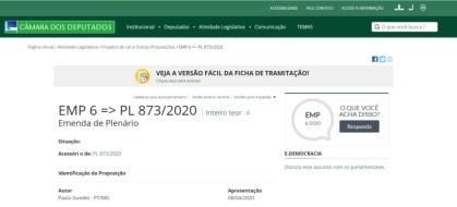 Ampliação do auxílio emergencial_ emenda deputado Paulo Guedes