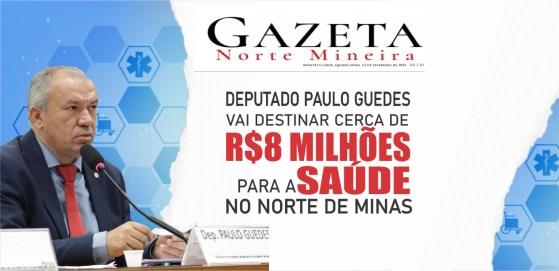 Paulo Guedes indica recursos para a saúde no norte de minas