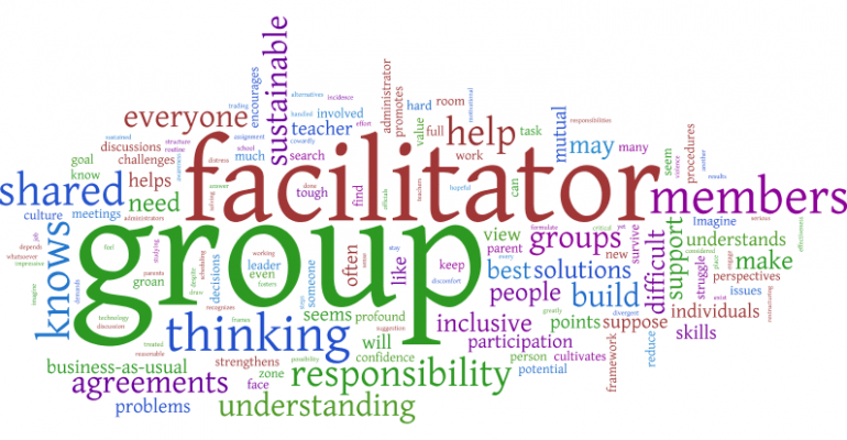 What is group facilitation? (image credit: Paul O'Raw)