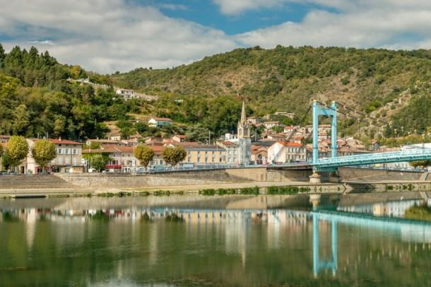 Sablons ViaRhona bridge