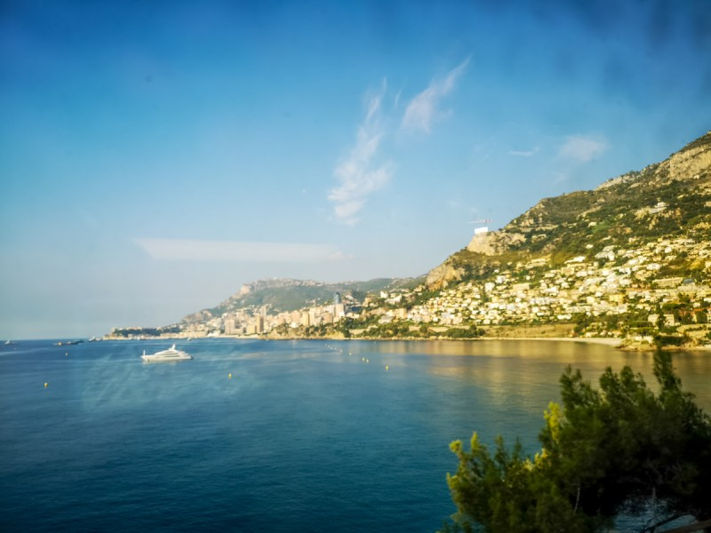 Cote D'Azur from TGV