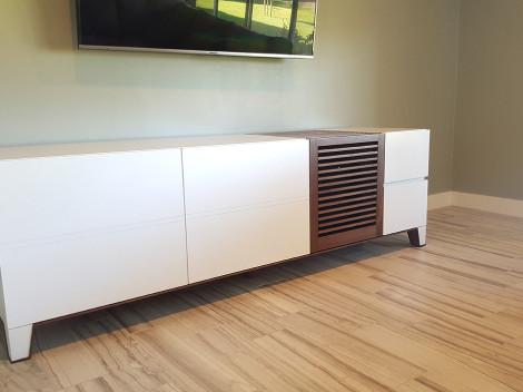 Custom Media Cabinets Phoenix AZ  design  build