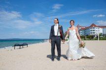 Beach Wedding in Michigan