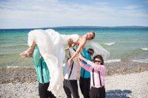 Lake Michigan Beach Wedding