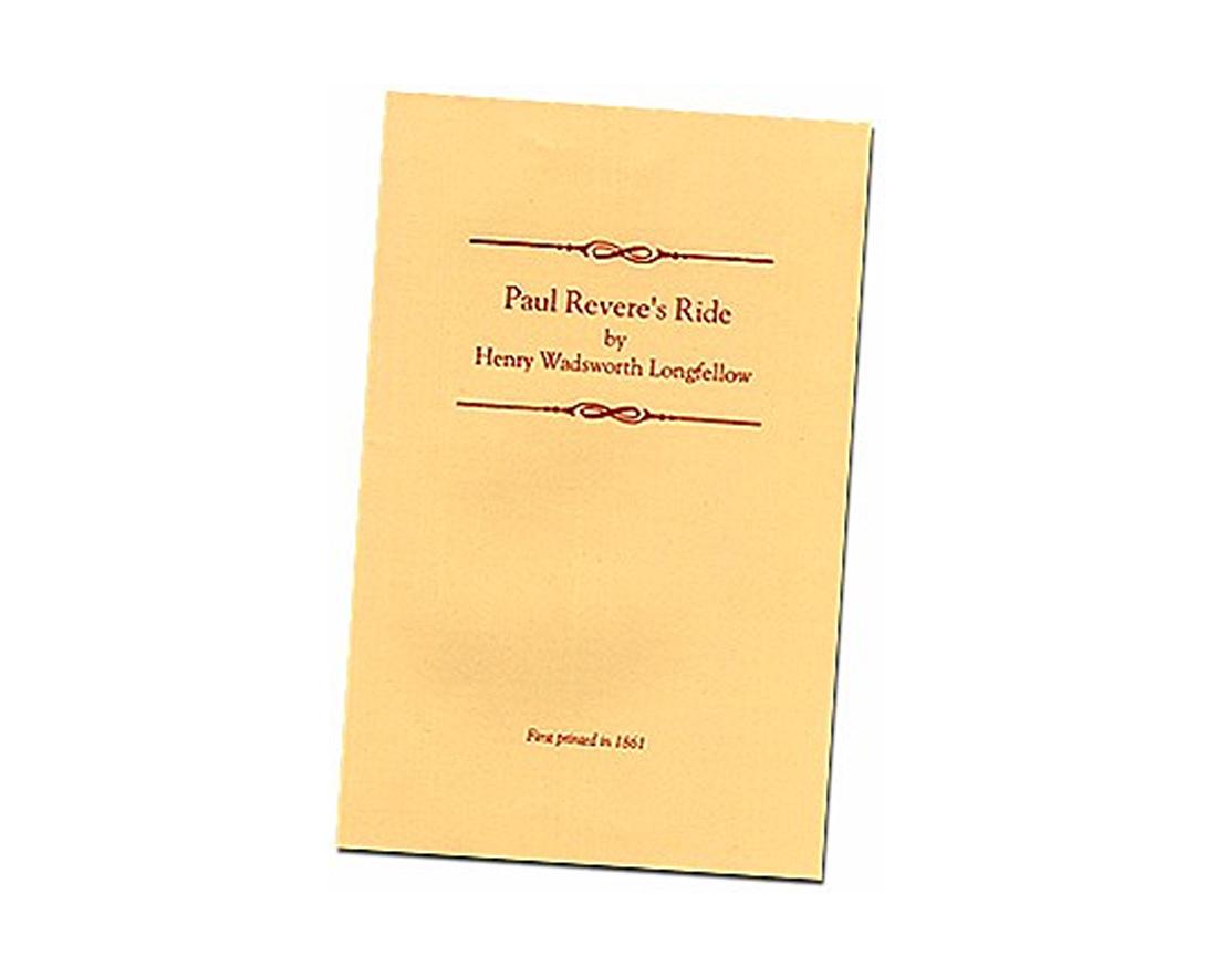 Paul Revere S Ride