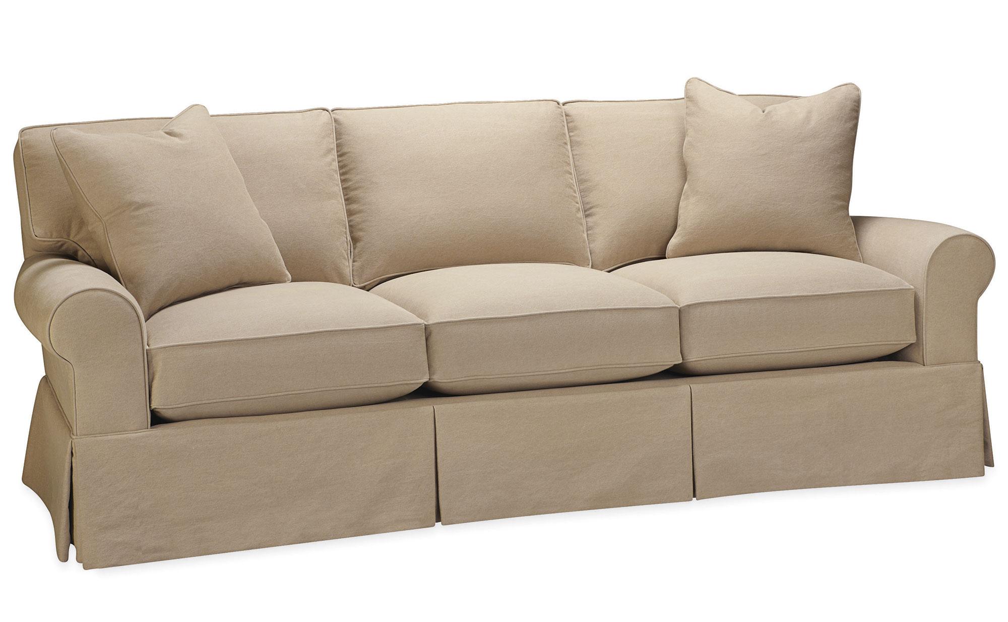 lee slipcovered sofa reviews living es bed sleeper furniture custom sectional