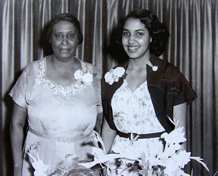 Marian and Paulina Forsythe