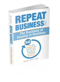 Paul Rutter - Repeat Business Book Cover