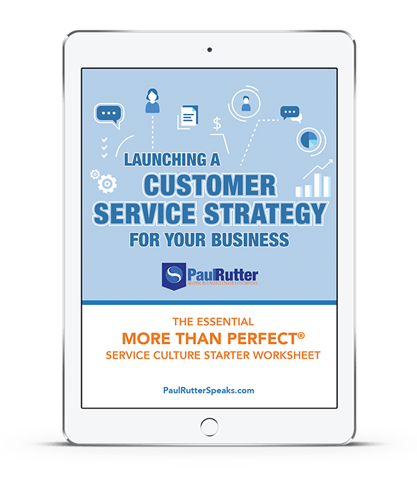 Paul Rutter - Customer Service Strategy incentive
