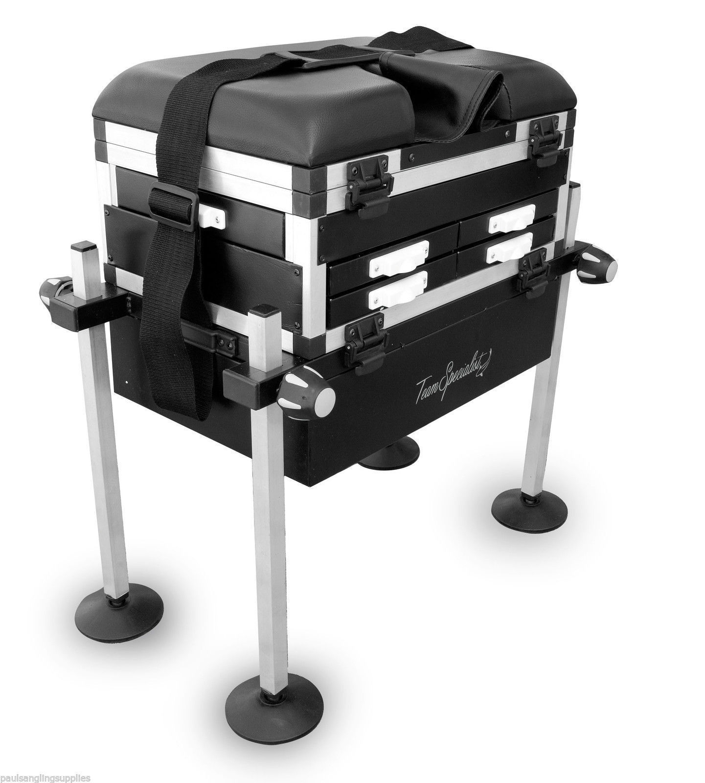 ngt fishing chair harley davidson chairs max 5 drawer seat box seatbox with strap