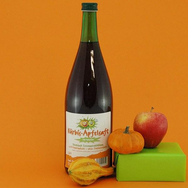 Kürbis-Apfelsaft 1,0 l.