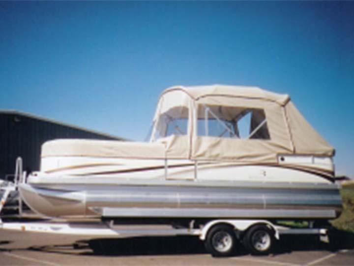 Pontoon Boat Enclosures and Covers  Pauls Custom Canvas