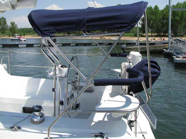 Sail Boat Covers Bimini Tops and Dodger Enclosures  Paul