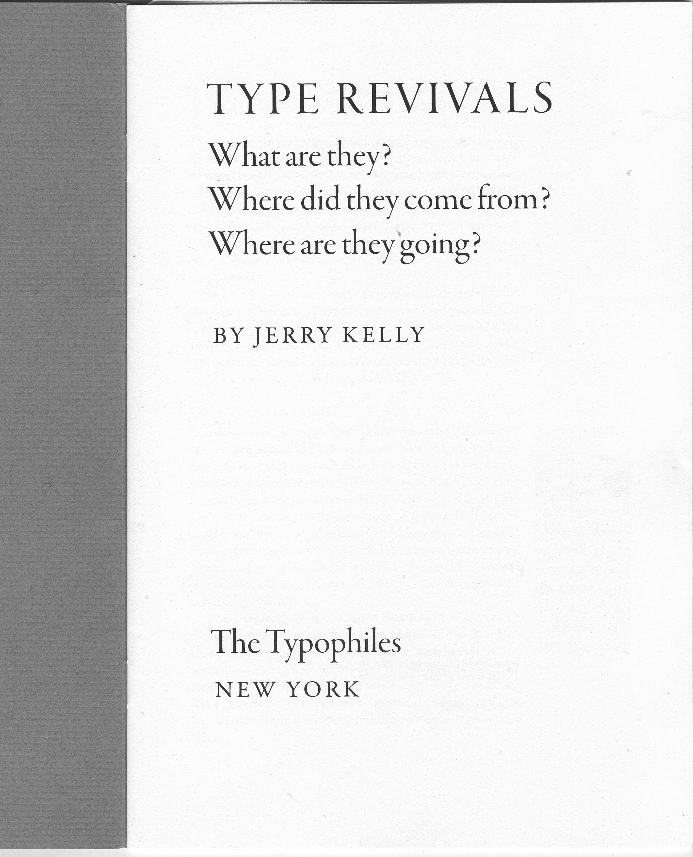 Paul Shaw Letter Design Book Review Type Revivals Rh Paulshawletterdesign  Com Book Report Cover Page Sample