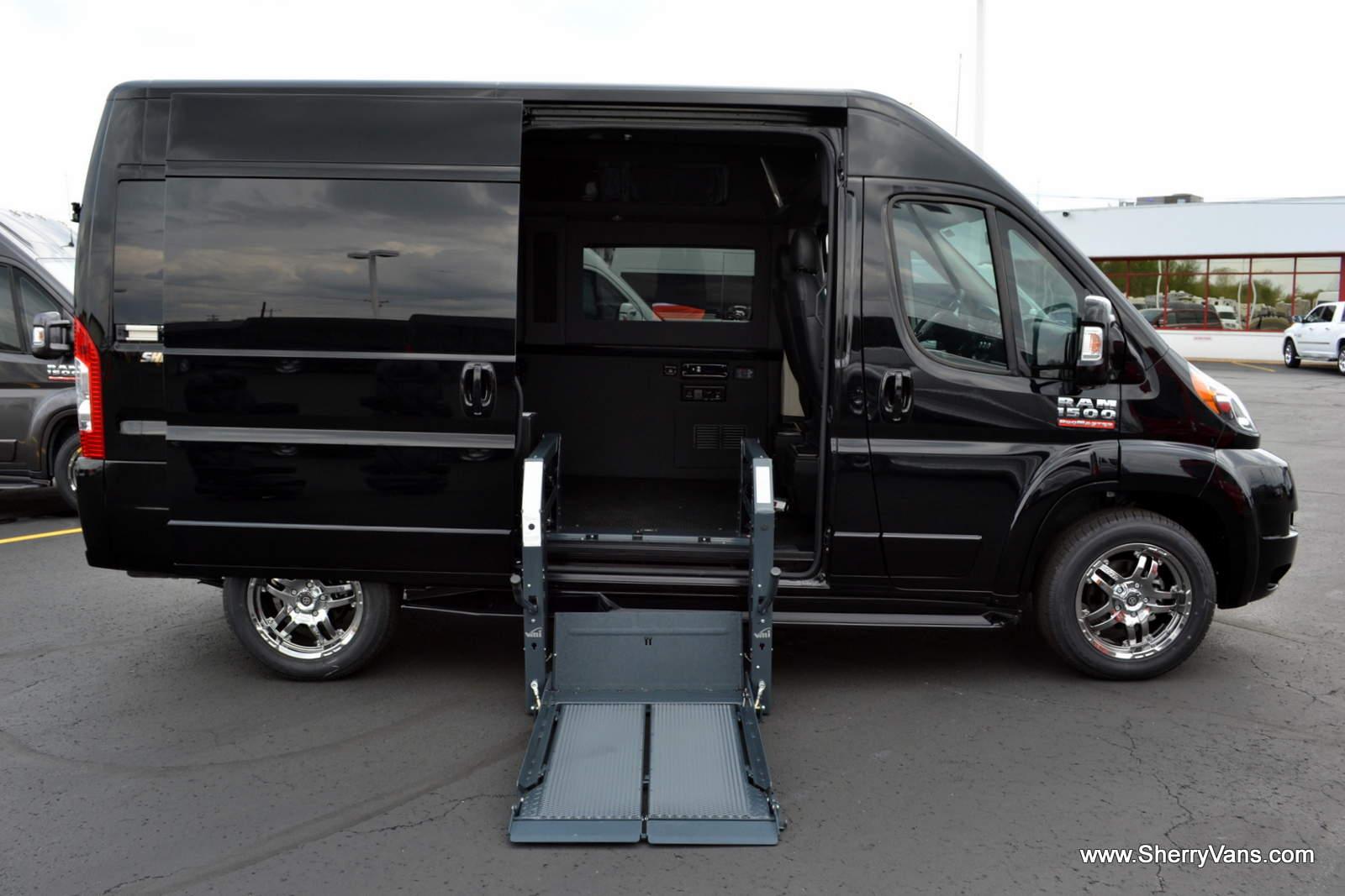 2016 RAM SHERRY VANS HIGHTOP Mobility CONVERSION VAN