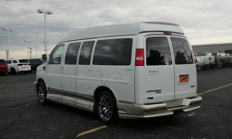 2013 GMC Conversion Van – Explorer Vans Mobility   CP16172T   Conversion Vans For Sale at Paul Sherry Conversion Vans