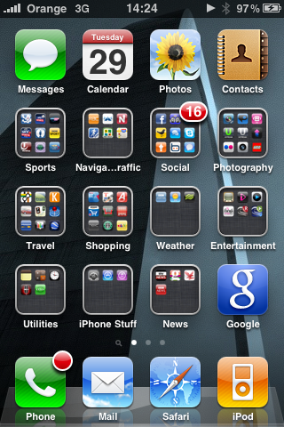 A week with iOS 4