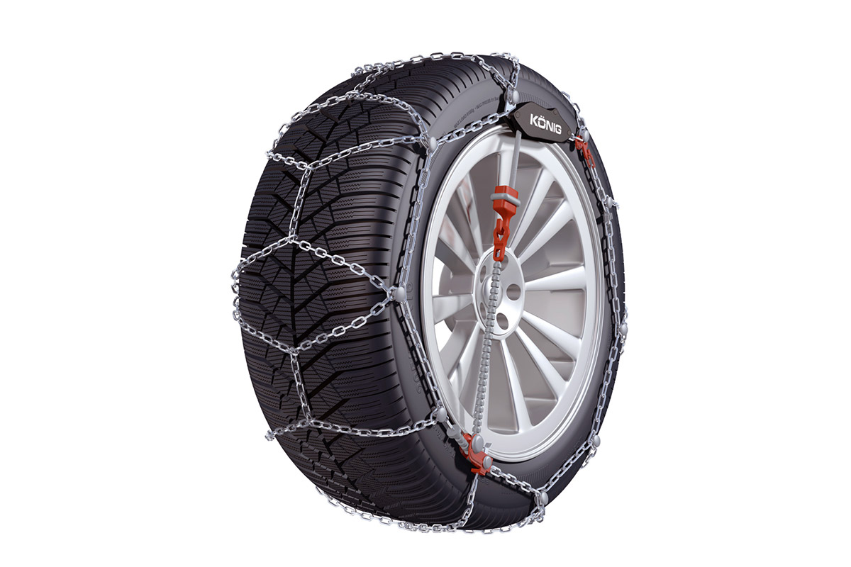 Konig T2 magic snow chains for larger 4WD's