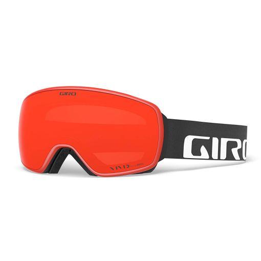 giro agent black wordmark vivid ember lens