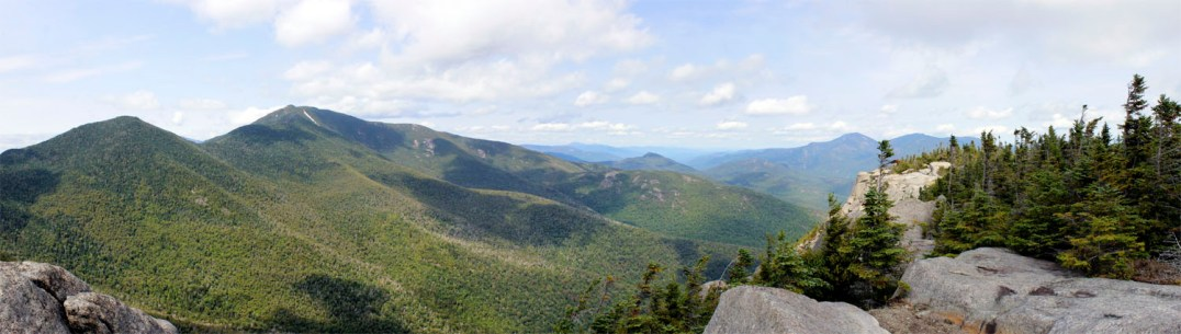 The view during an early-semester hike up Grace, one of the Adirondack's 46 High Peaks.