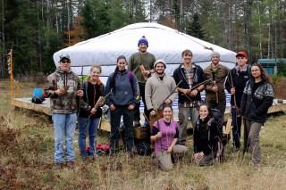 A survival course as part of a capstone project.