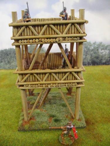 Roman Wooden Watchtower 28mm Paul S Modelling Workshop