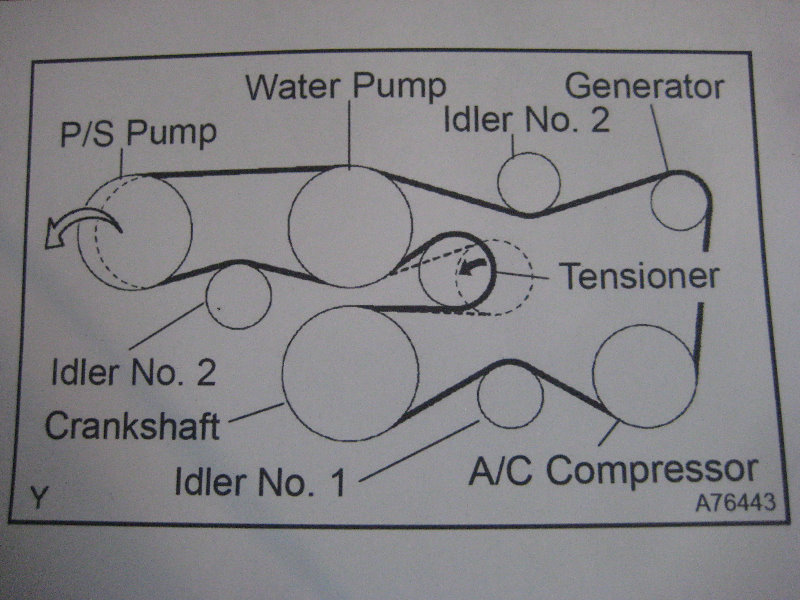 4 runner belt diagram 21 wiring diagram images