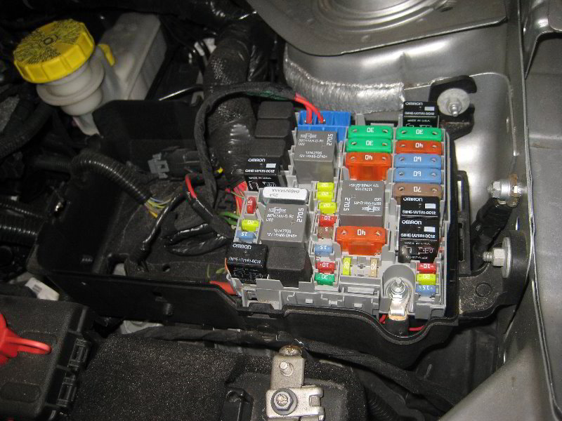 Fuse Box On 2013 Dodge Dart Dodge Dart Electrical Fuses Replacement Guide 011