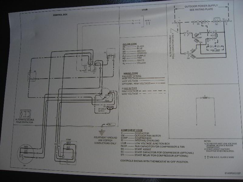 Goodman A C Compressor Wiring Diagram