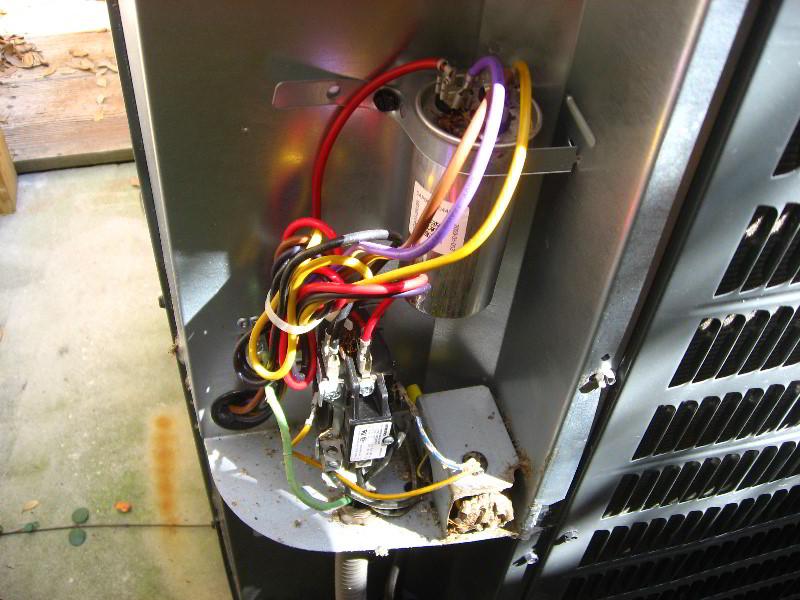 Ac Fan Motor Capacitor Wiring Diagram Goodman Hvac Condenser Dual Run Capacitor Replacement