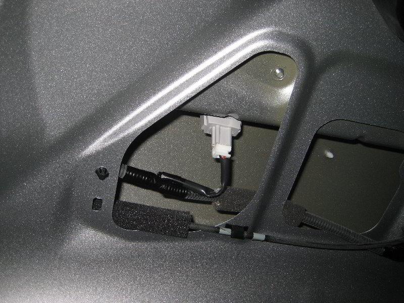 2012 Accord Honda Plate Bulb License
