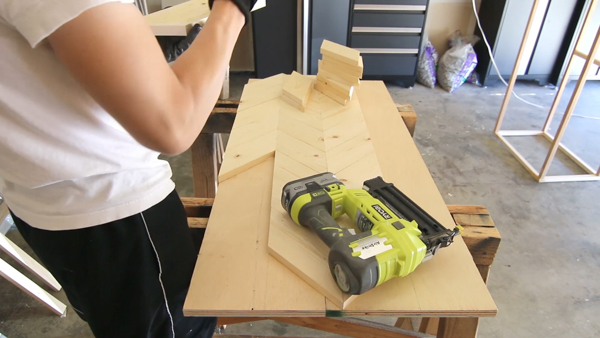 You May Have Some Pieces That Hang Off The Edge Of The Plywood Underneath.  Use A Circular Saw Or A Table Saw To Clean Up The Edges.