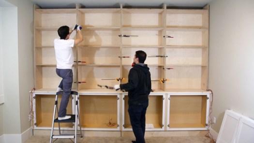 Built Ins Shelves Built In Bookcase Diy Paul Tran Diy