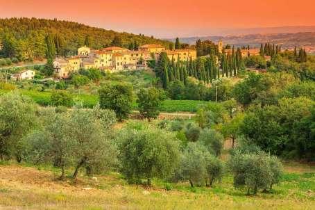 Italie Siena omgeving