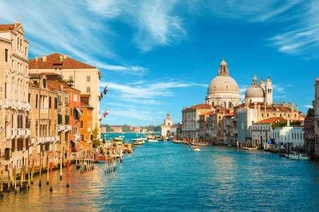 Italie Venetie Grand Canal