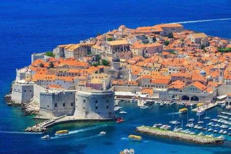 Kroatie Dubrovnik haven