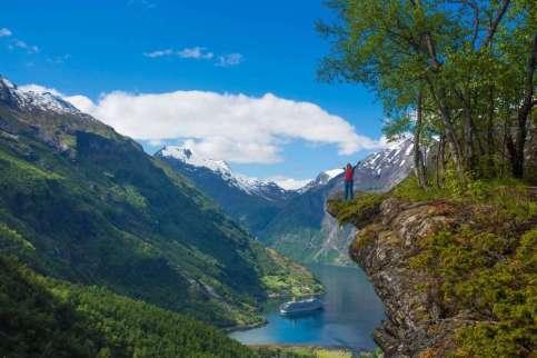 Noorwegen Geirangerfjord