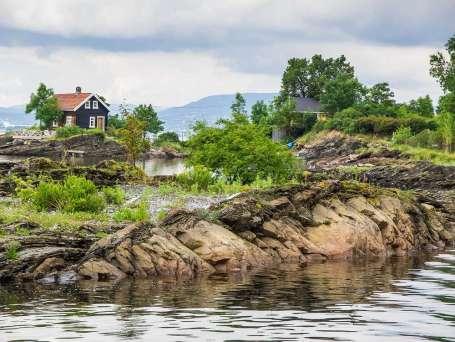 Noorwegen Oslo fjord
