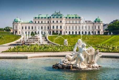 Stedentrip Wenen (Oostenrijk) Belvedere