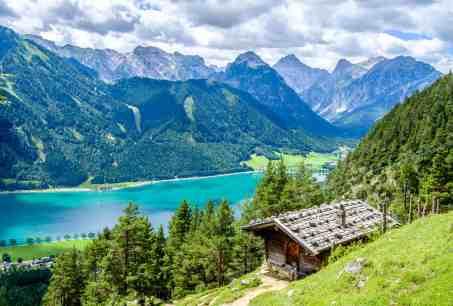 achensee lake in austria