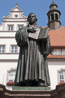 Martin Luther, Lutherstadt Wittenberg, Deutschland