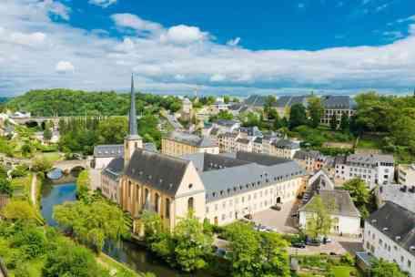 Luxemburg stad Grund district