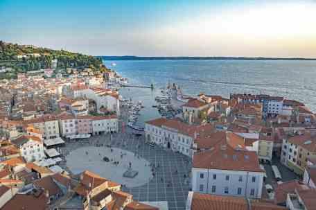 Slovenia, town Piran