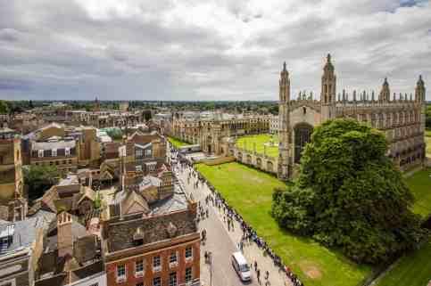Busreis Engeland: Cambridge